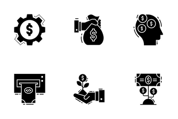 Finance And Tax Icon Pack