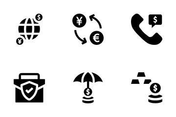 Finance Basic Icon Pack