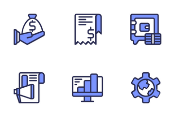 Finance & Business Icon Pack