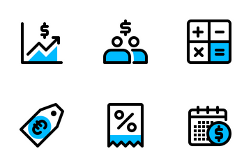 Finance & Business 3 Icon Pack