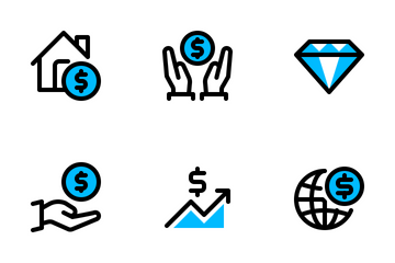 Finance & Business 4 Icon Pack