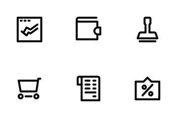Finance Collection Icon Pack