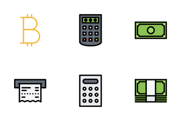 Finance Colored Icon Pack