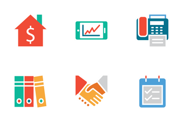 Finance Colored Icons Icon Pack