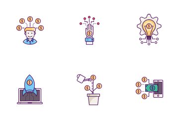 Finance Concepts Icon Pack