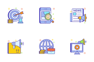 Finance Concepts Vol 2 Icon Pack