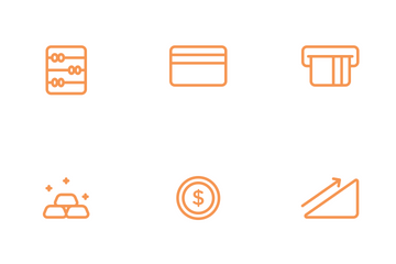 Finance Line Icon Pack