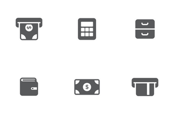 Finance Solid Icon Pack