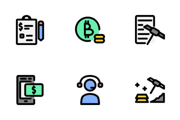 Finance Technology Icon Pack