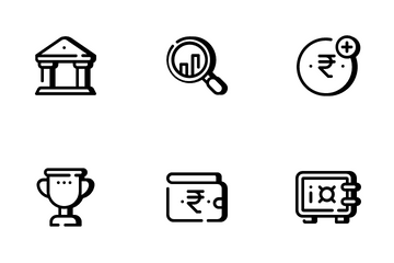 Finance Tiny Icon Pack