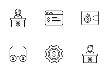 Finance Vol - 1 Icon Pack