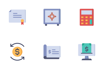 Finance  Vol 2 Icon Pack