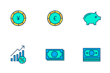 Finance Vol - 4 Icon Pack