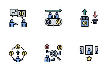 Financial Advisor Icon Pack