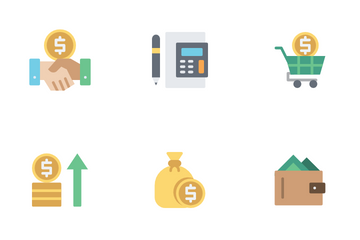 Financial Currency Icon Pack