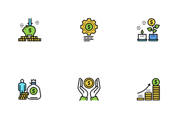 Financial Education Icon Pack