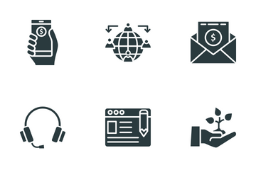 Financial Management Icon Pack