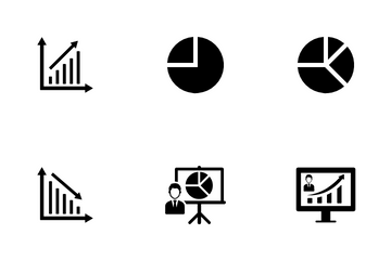 Financial Market Analysis Icon Pack
