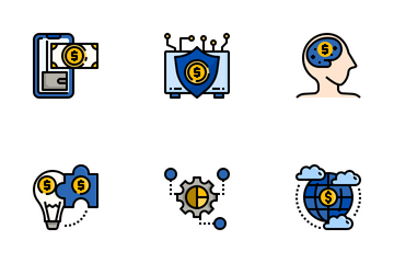 Financial Technology Icon Pack