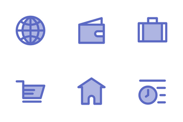 Fintech (Duotone 41px) Icon Pack