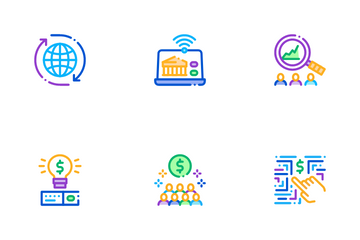 Fintech Innovation Icon Pack