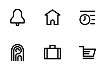 Fintech (Outline 41px) Icon Pack