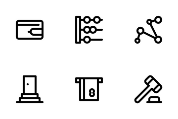 Fintech Solutions Icon Pack