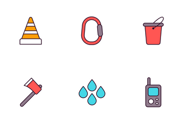 Fire Department Icon Pack