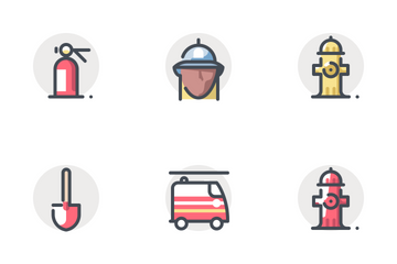 Fire Department - App Background Icon Pack