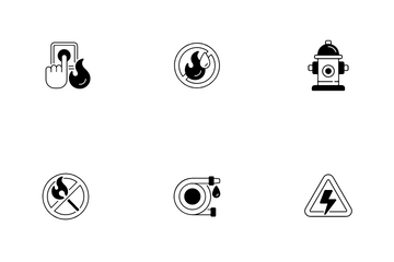 Fire Safety Icon Pack