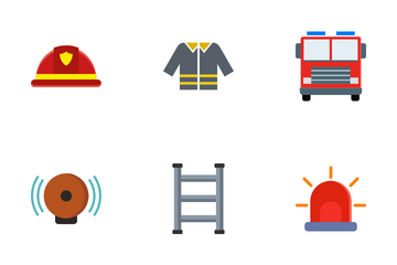 Firefighter Icon Pack