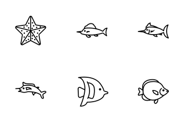Fish Icon Pack