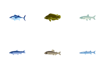 Fishes Icon Pack