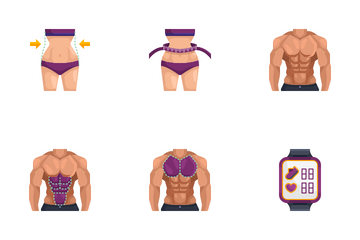 Fitness And Gym Icon Pack