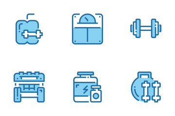 Fitness And Healthy  Icon Pack