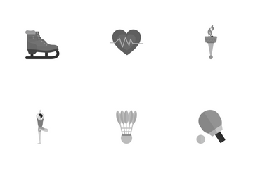 Fitness And Sports Icon Pack