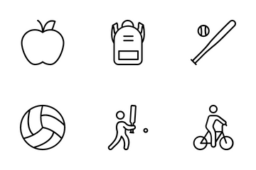Fitness And Supports Icon Pack