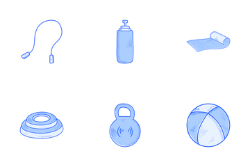 Fitness Diet Pack 1 Icon Pack