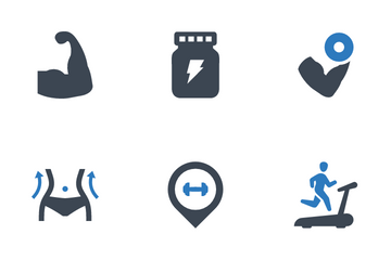 Fitness & Gym Icon Pack