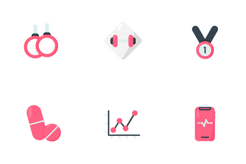 Fitness Health Icon Pack