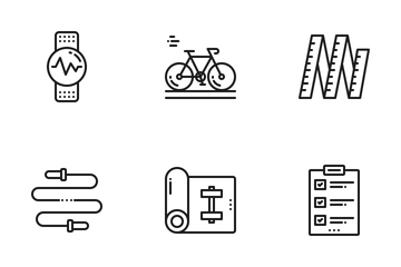 Fitness & Health Icon Pack