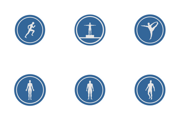 Fitness Label Icon Pack