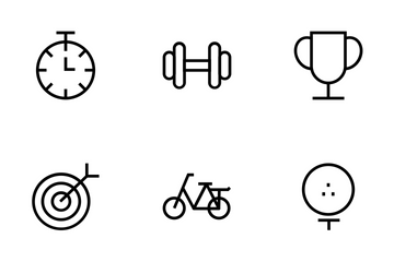 Fitness Vector Icons Icon Pack