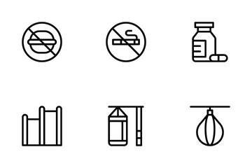 Fitness Vol 1 Icon Pack