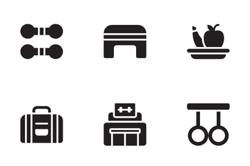 Fitness Vol 2 Icon Pack