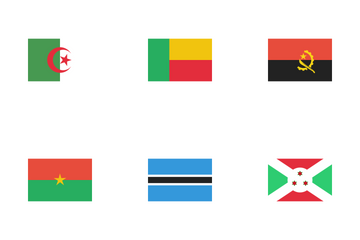 Flags Of Africa Icon Pack