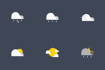 Flat Weather Icon Pack