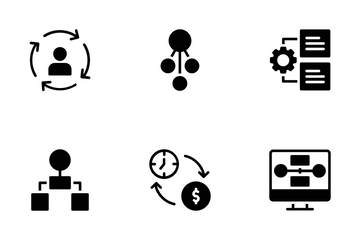 Flow Chart Icon Pack