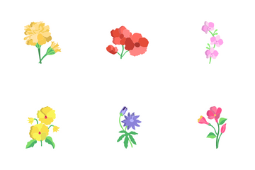 Flowers Icon Pack