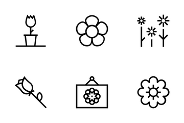 Flowers And Floral Icon Pack